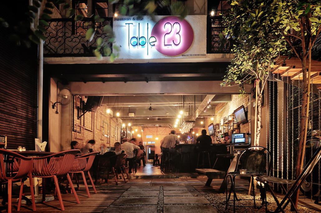 Table restaurants in bukit bintang kuala lumpur