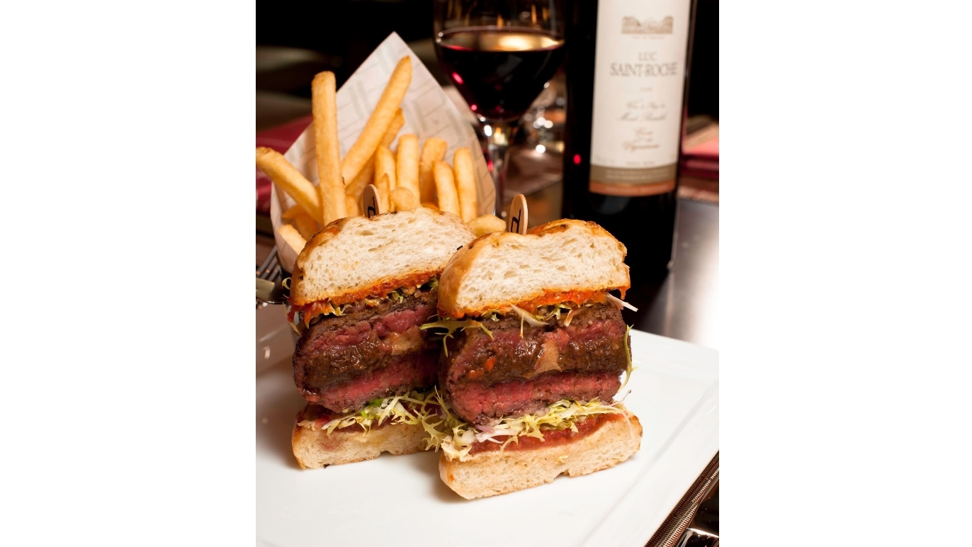 db Burger at db Bistro Moderne, $42