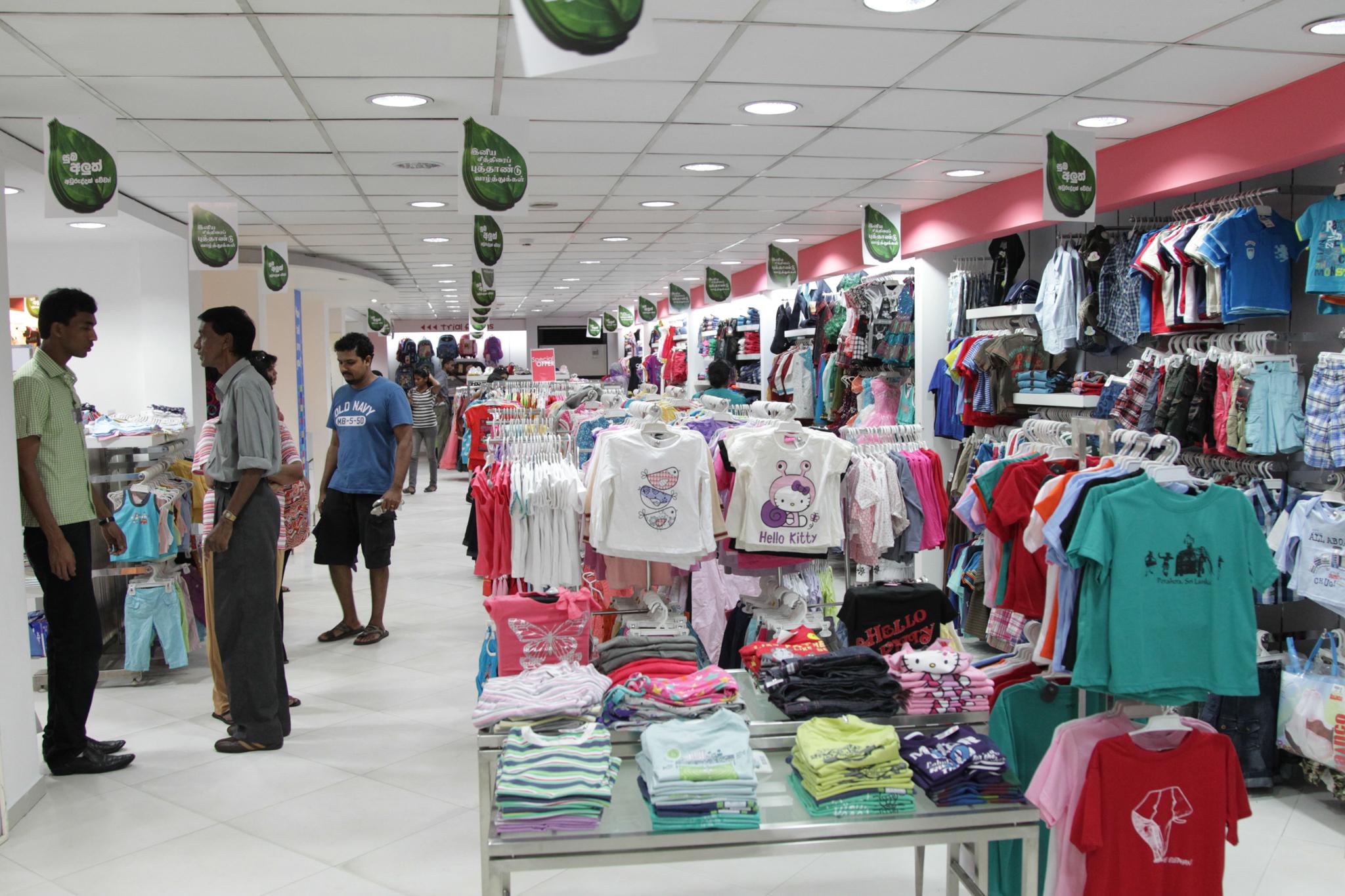 Best clothing stores in sri lanka