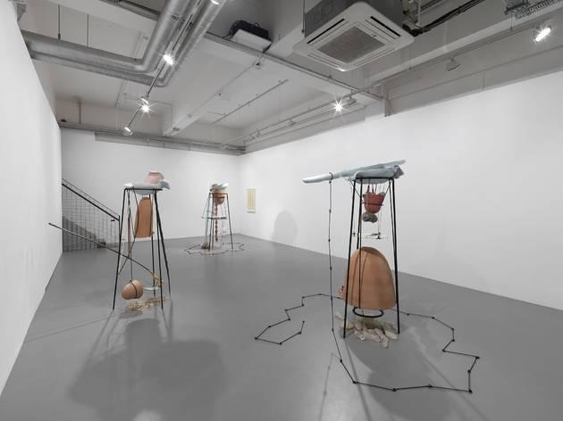 "Tunga (Installation shot of 'Tunga: From ""La Voie Humide""', at Pilar Corrias, London.)"