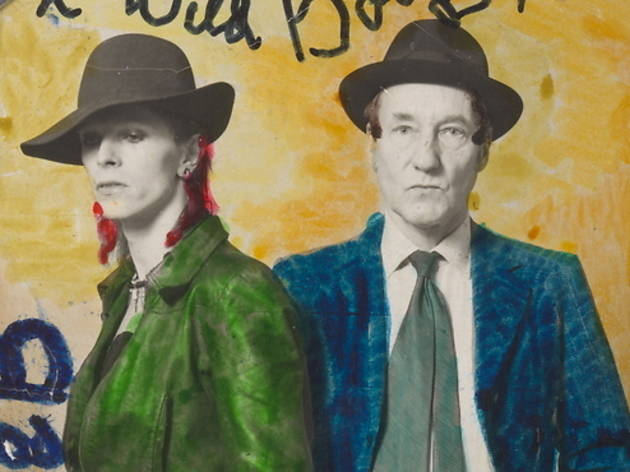 Bowie & William Burroughs (Exposition David Bowie Is / © David Bowie Archive 2012 / V&A Images)