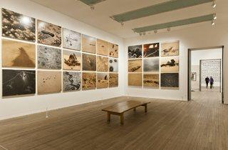 (Installation view of 'Conflict, Time, Photography' at Tate Modern )