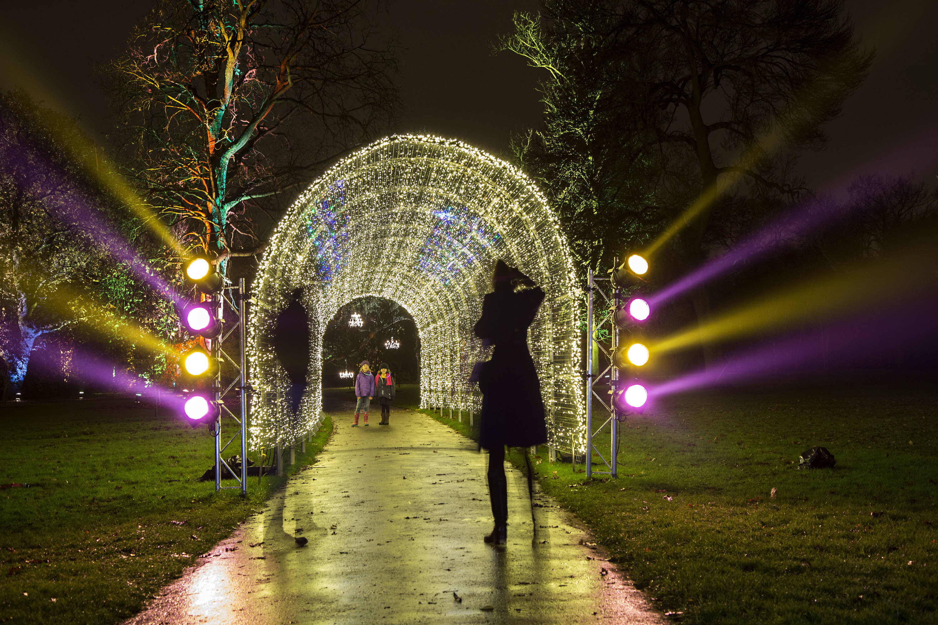 Christmas at Kew Gardens' Santa's Grotto