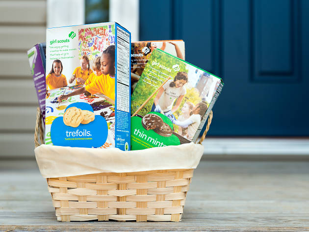 Buy Girl Scout cookies online and get them delivered to your door