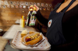 100 best dishes in london - herman ze german - bockwurst