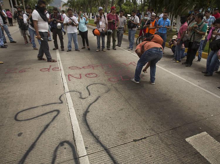 Exposición: Los normalistas de Ayotzinapa