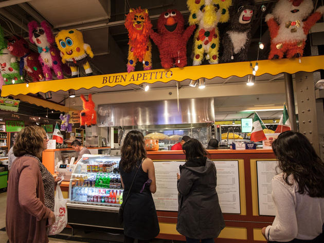 Buen Apetito is located in the French Market.
