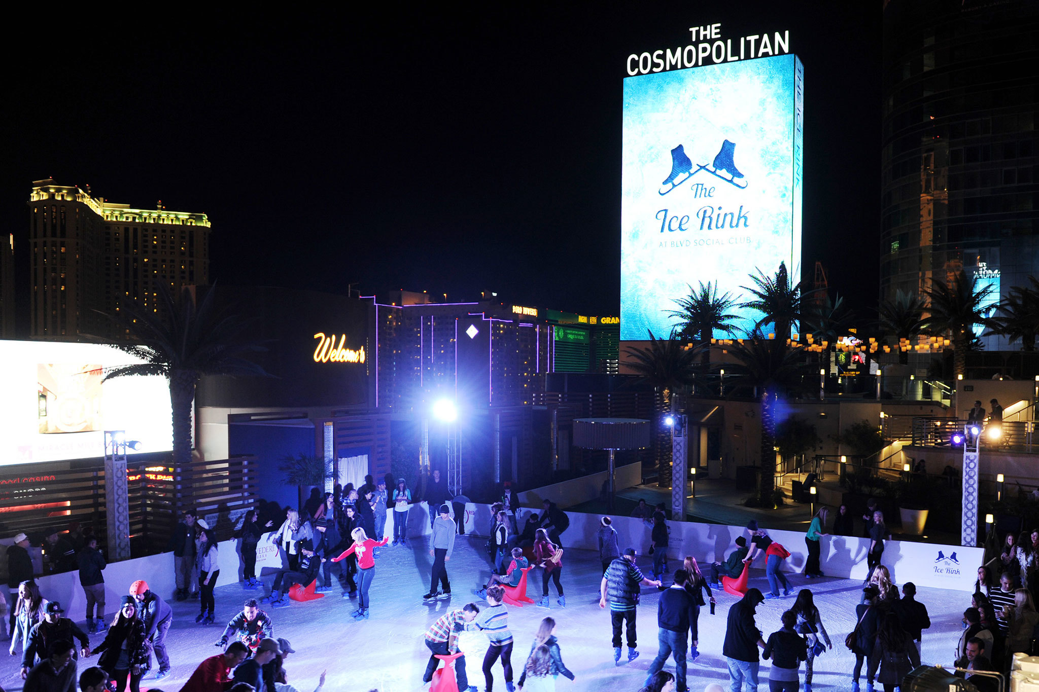 Ice Rink at the Cosmopolitan