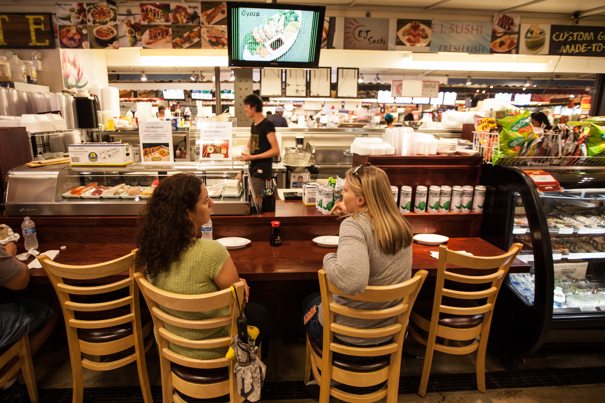 EJ Sushi is located in the French Market.
