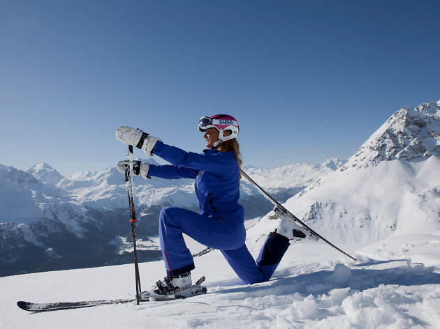 Yoga on Snow, St Moritz event, Time Out Switzerland