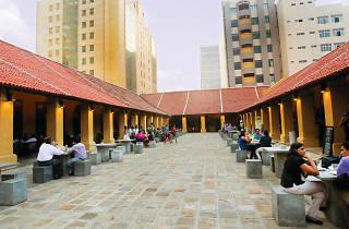 Dutch Hospital Shopping Precinct is a popular shopping venue in Colombo