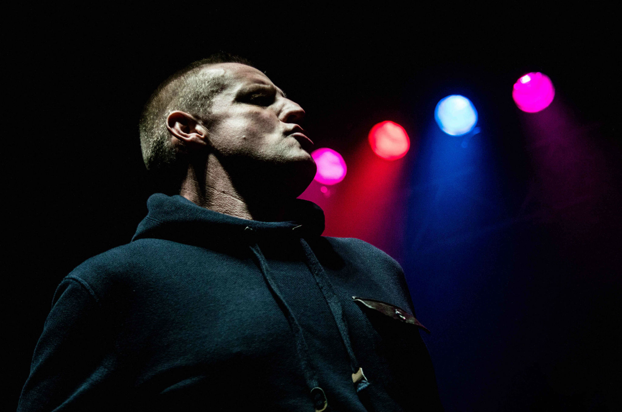 Darren Partington of 808 State at The Ritz