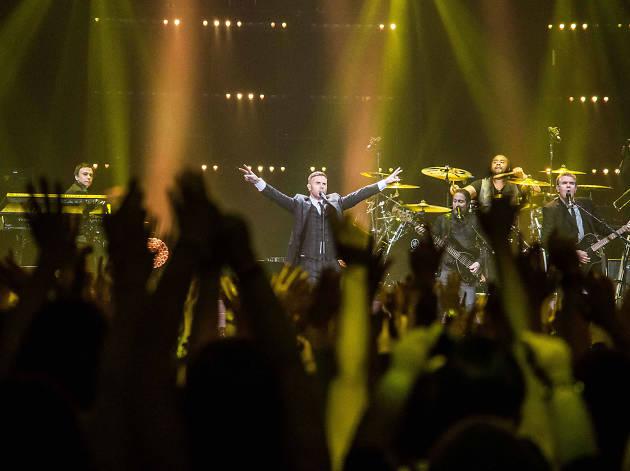 Gary Barlow at Manchester Arena