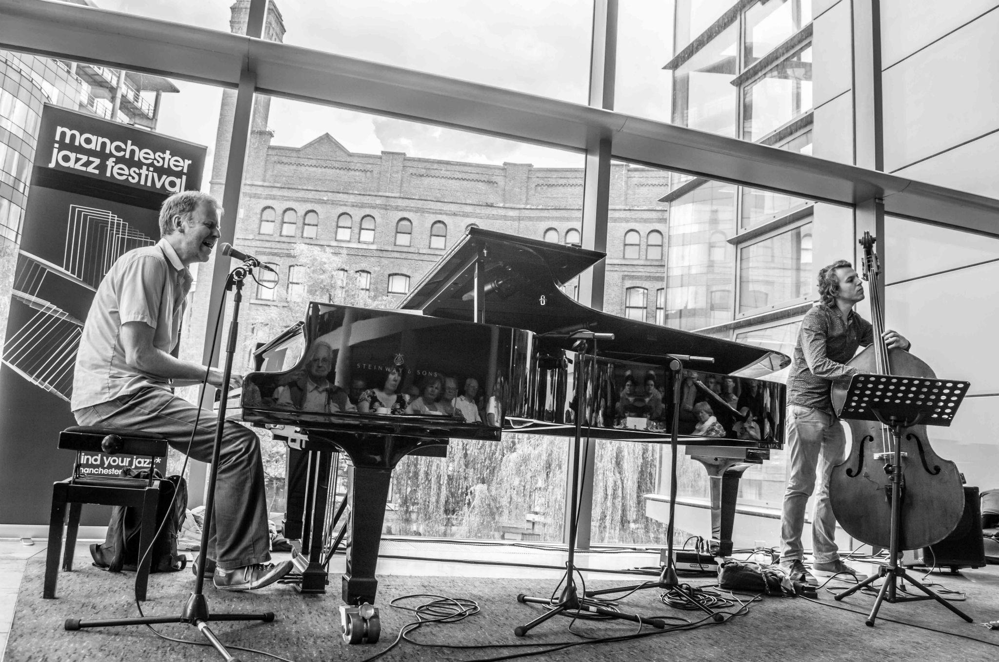 John Ellis at Manchester Jazz Festival
