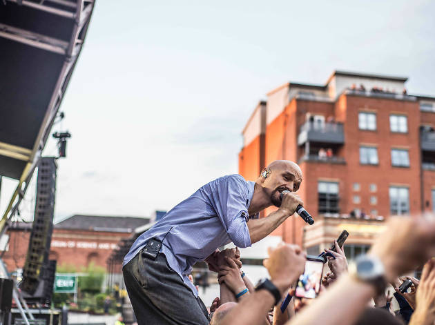 Tim Booth at Castlefield Bowl