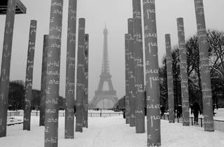 Paris sous la neige photos