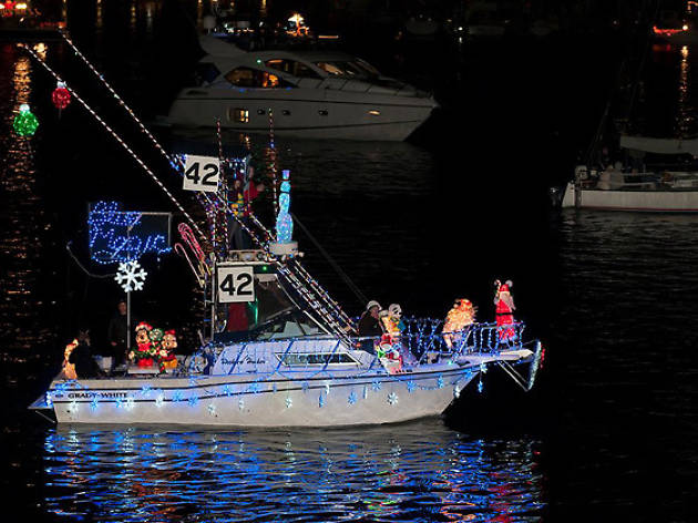 Christmas Boat Parade Decorating Ideas.15 Best Places To See Christmas Lights In Los Angeles