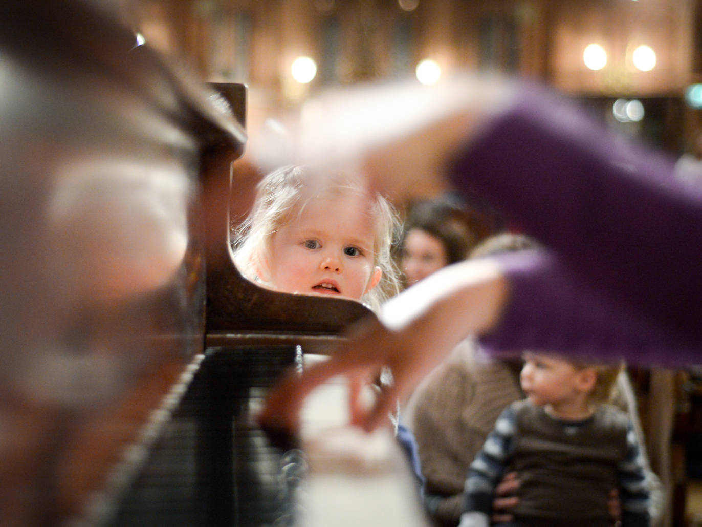 101 things to do in London with kids - Bach to Baby Family Christmas Concert