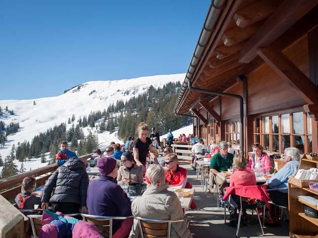 Restaurant Les Mazots, Les Diableret restaurant, Time Out Switzerland