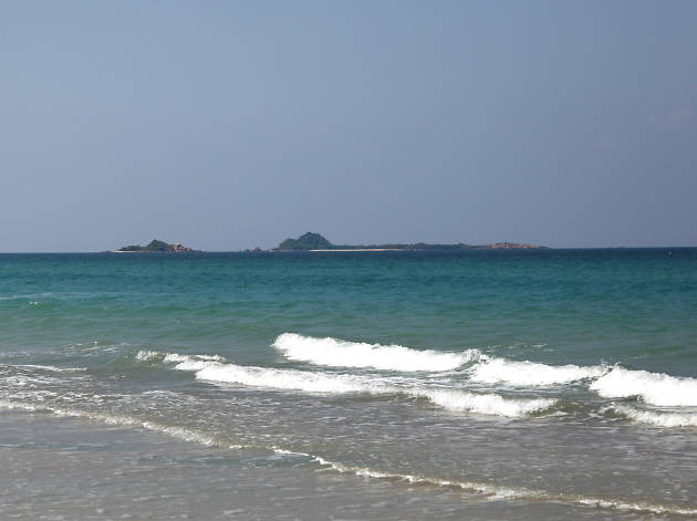 The Beach in Trincomalee beach offering a picturesque view