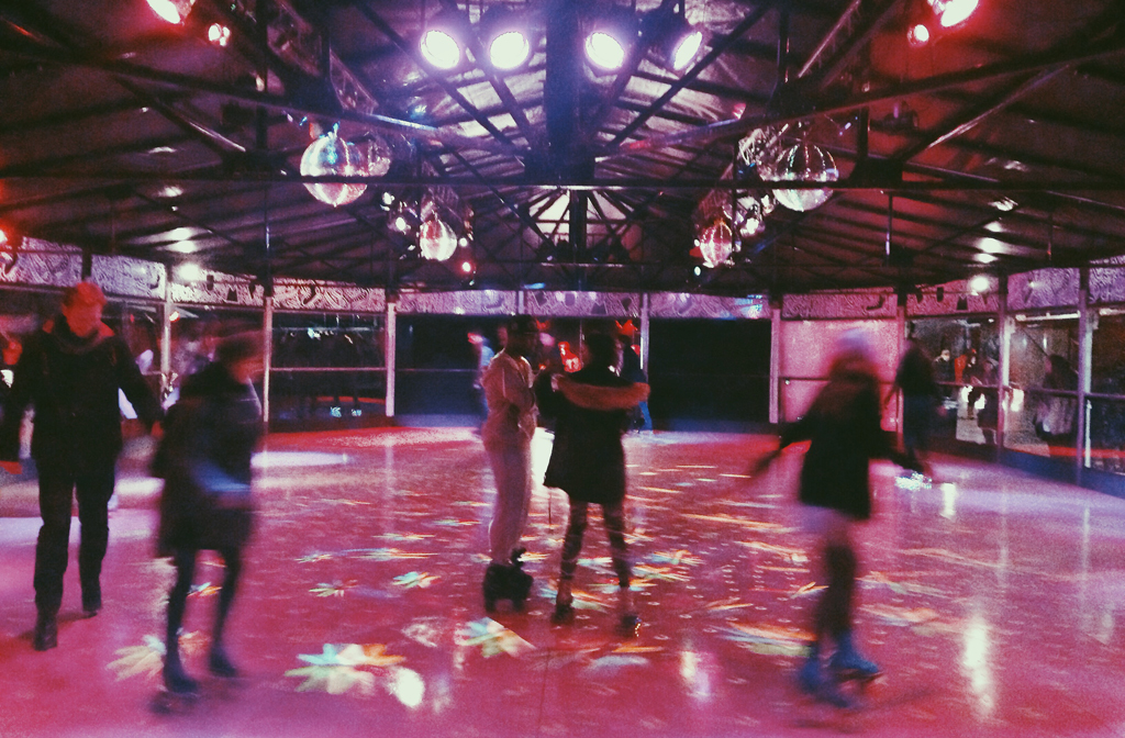 Bump roller disco at Winterville