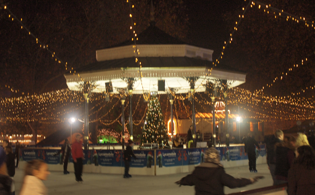 Winter Wonderland ice rink 2014