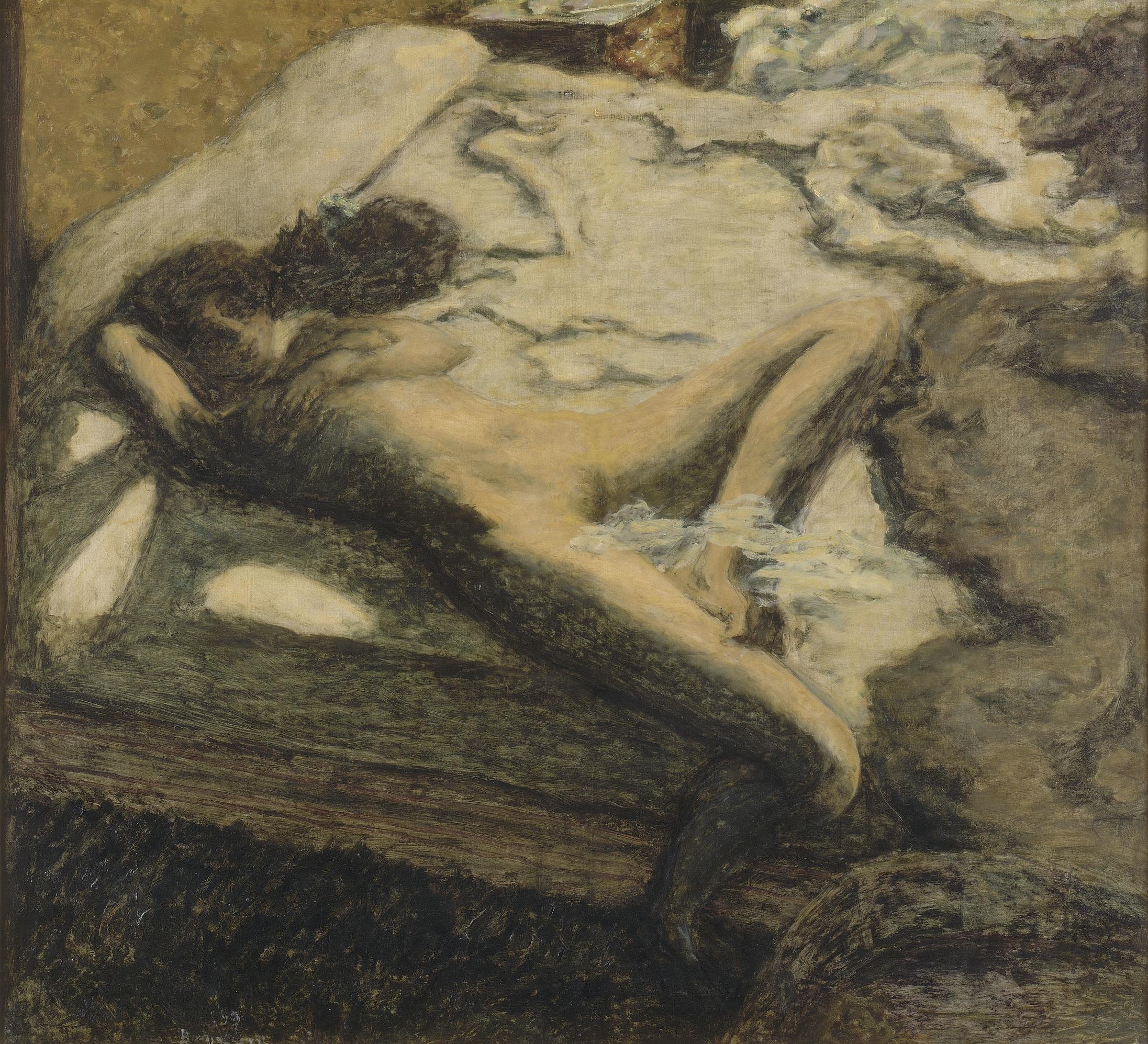 (Pierre Bonnard, 'Femme assoupie sur un lit', dit aussi 'L'Indolente', 1899 / © RMN-Grand Palais (Musée d'Orsay) / Thierry Le Mage / © ADAGP, Paris 2015)