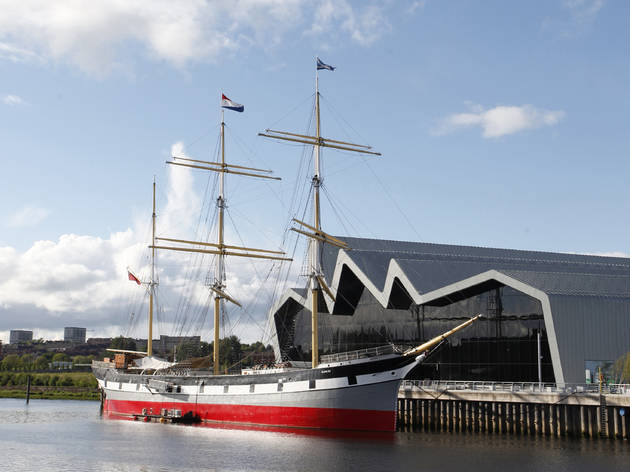Riverside Museum and Tall Ship Glenlee