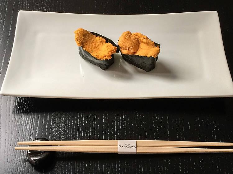 Sushi Nakazawa in New York