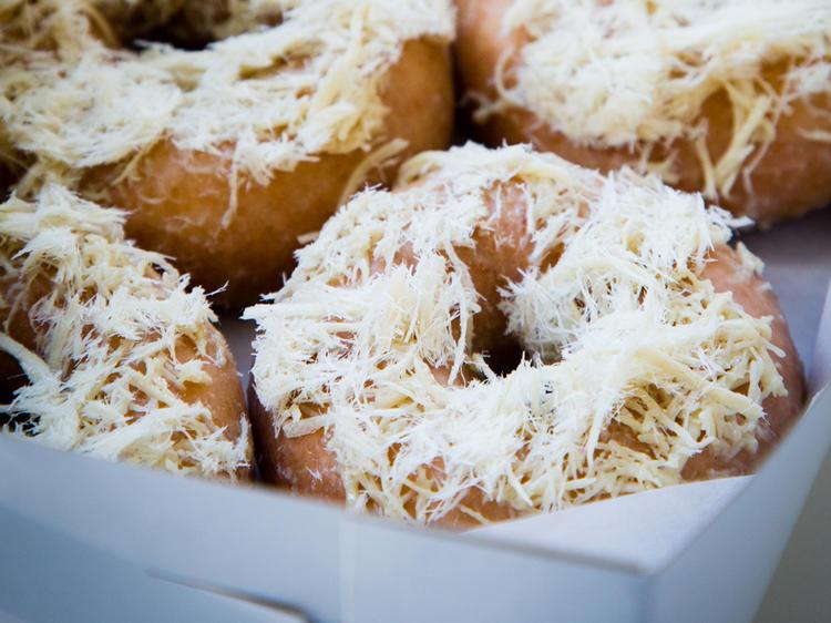 Halva donut at Underwest Donuts