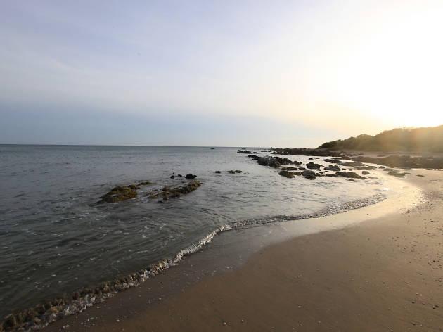 A serene beach in Trincomalee