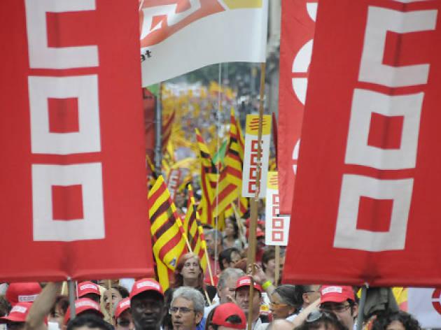 CCOO: 50 anys d'història de Catalunya (1964-2014)