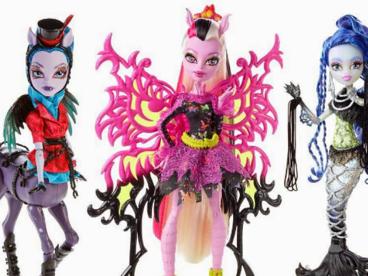 Monster High Fusión espeluznante
