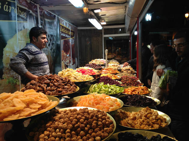 Mercado de dulces de Ópera