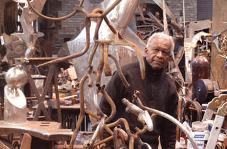 """Richard Hunt: Sixty Years of Sculpture"""