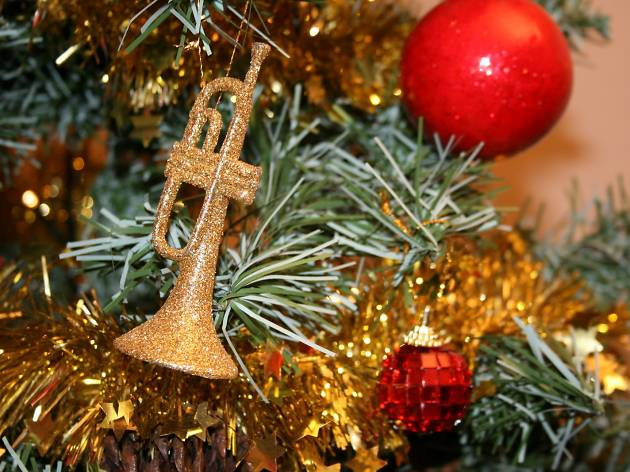 Trumpet Christmas tree decoration - Where To Buy Christmas Trees In London Best Christmas Tree Shops