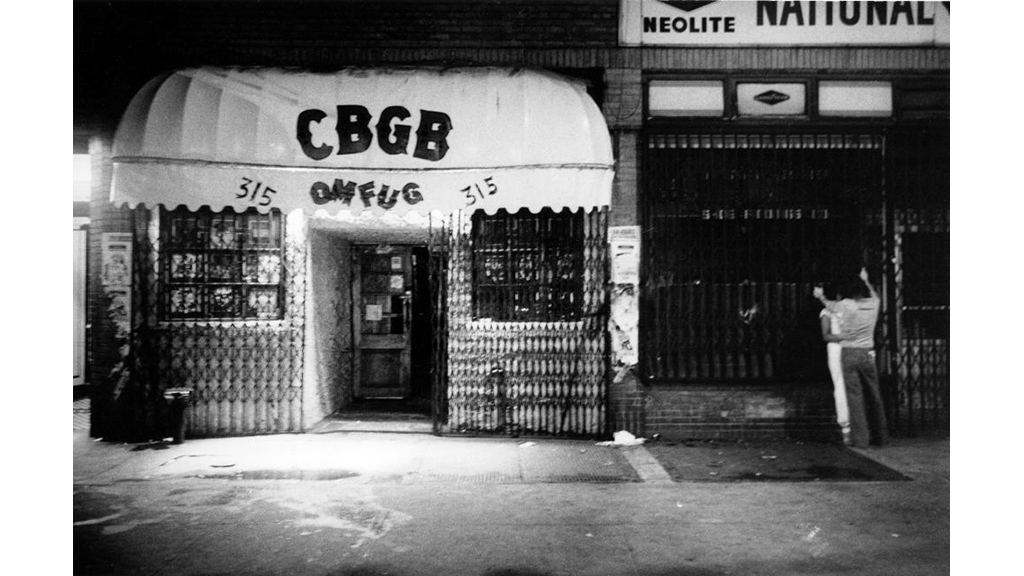 See photos of the legendary CBGB in its heyday