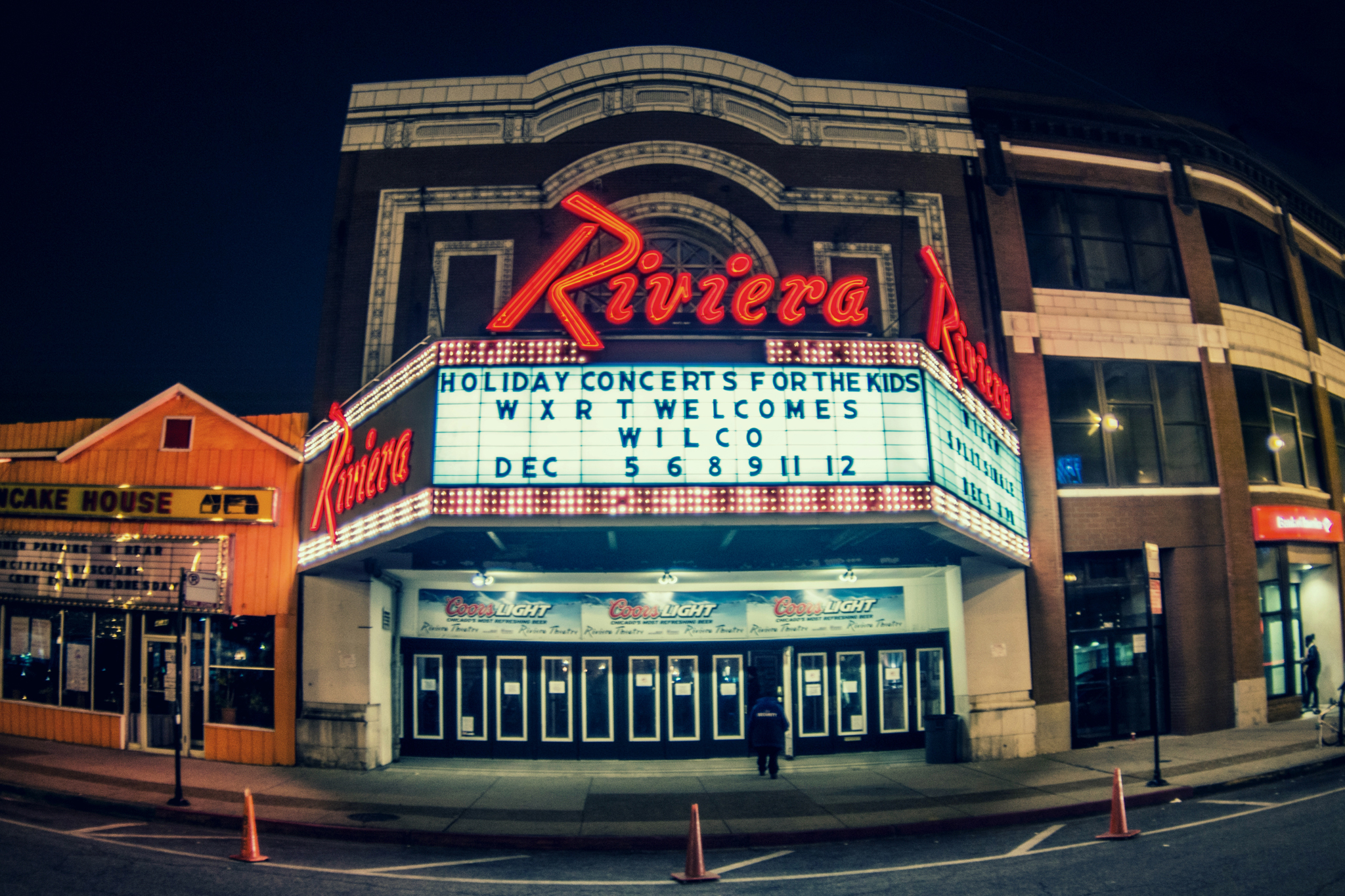 Wilco kicked off its six-night stand at the Riv, Friday Dec 5, 2014.