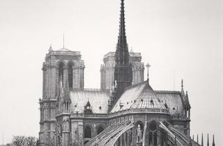 (Michael Kenna, 'Notre Dame, Study 2', Paris, France, 1988 / © Michael Kenna / Musée Carnavalet)