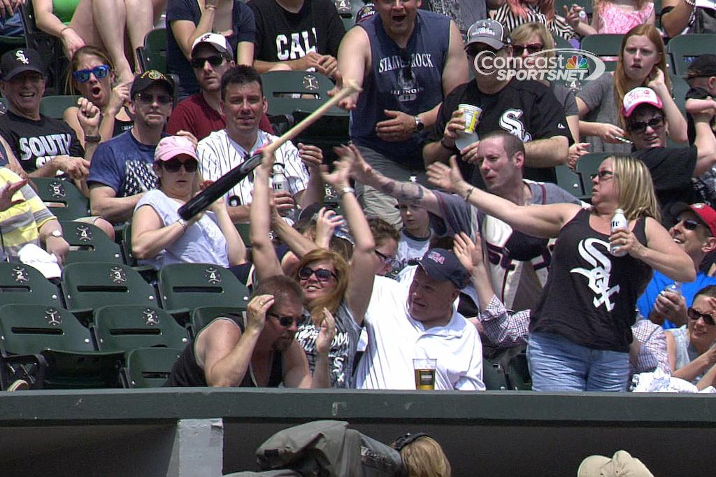 Sox bat catch