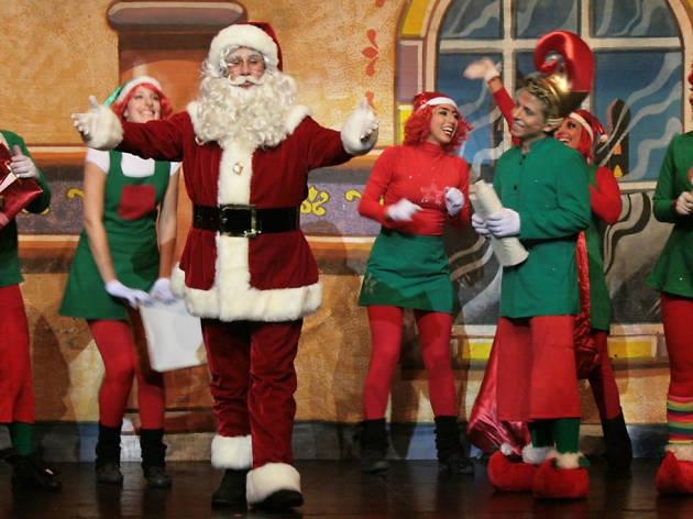 Top 5. Lugares para tomarse la foto con Santa Claus