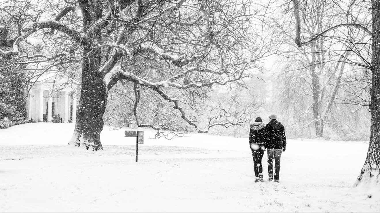 36 peaceful pictures of London in the snow