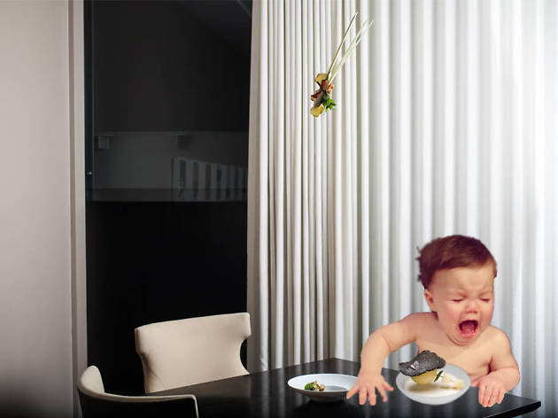 The Alinea baby causes a fuss