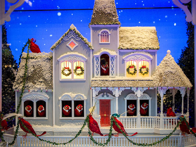 Christmas Window Displays.The Best Christmas Window Displays In New York City