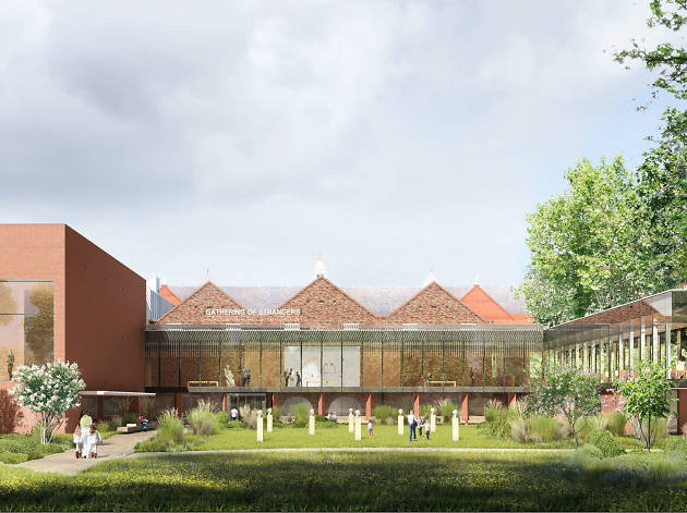 Re-opening of the Whitworth Gallery