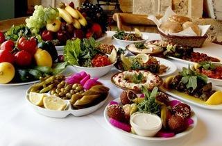 Restaurant Libanais Buffet Paris
