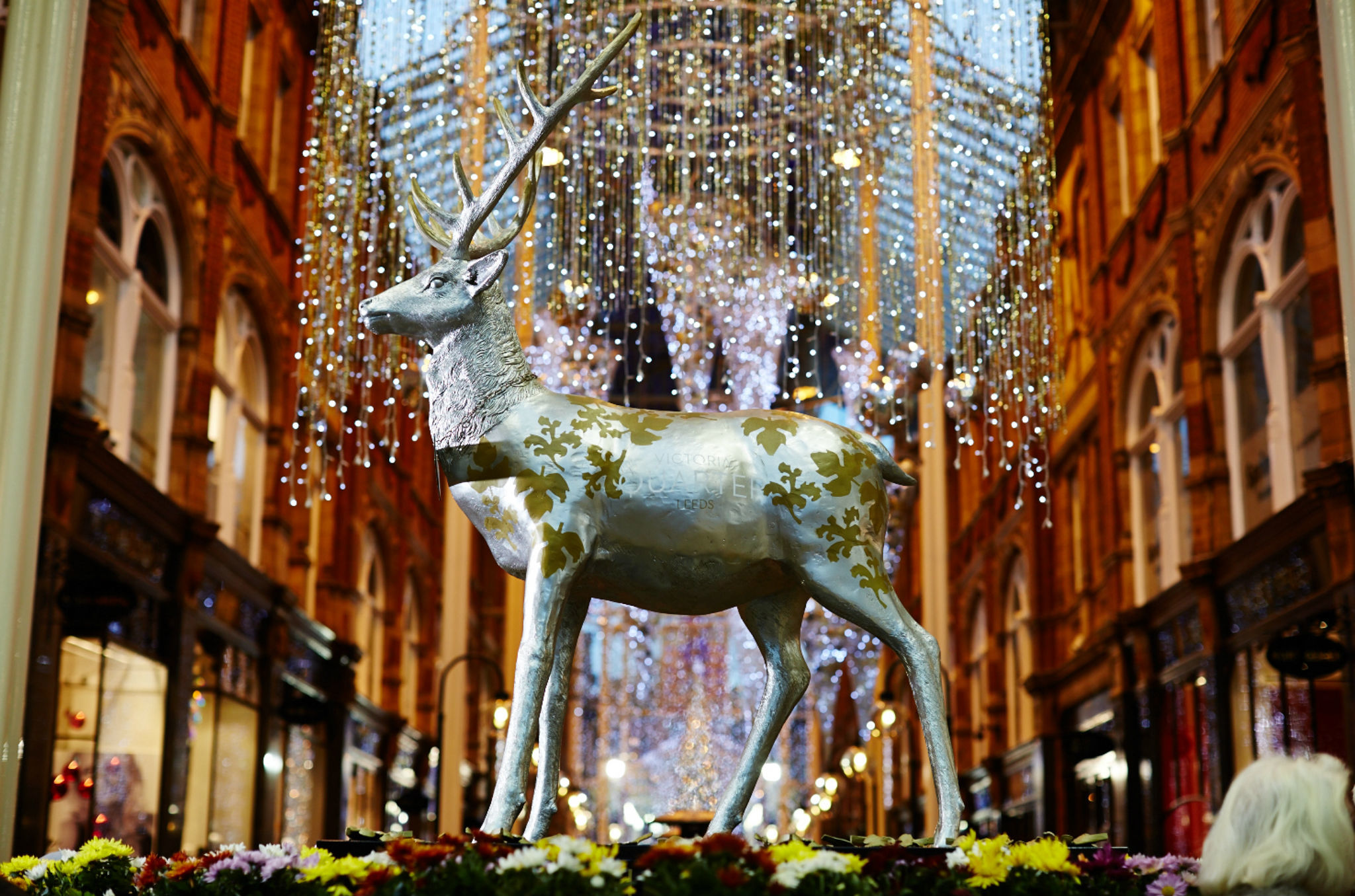 The Leeds reindeer trail
