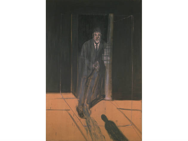 Portrait of Lucian Frued by Francis Bacon