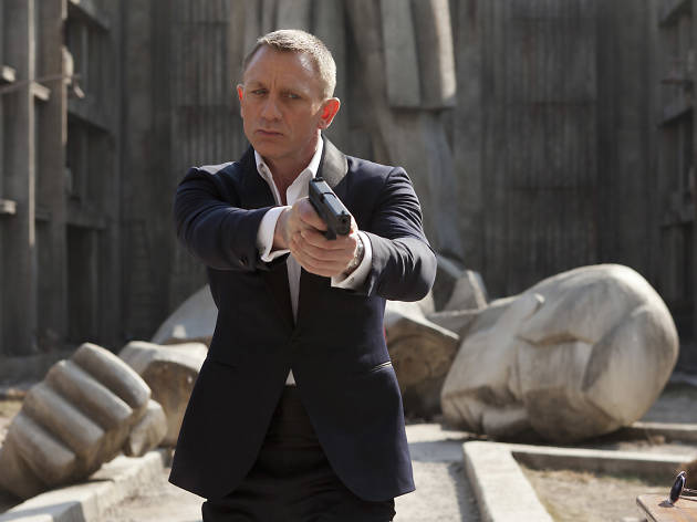 Where we last left James Bond