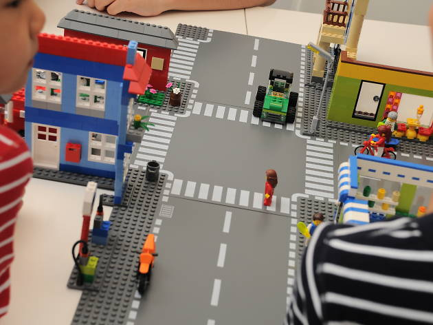 LEGO Town Building Challenge